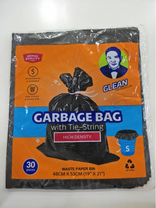 "Garbage Bag 19"" X 21"" Size (S) 30PCS/Pack"