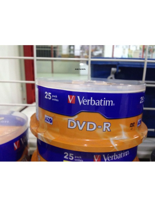 Verbatim 4.7GB DVD-R 25 PCS