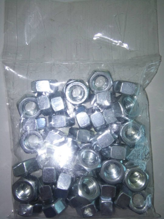 3/8 M/STEEL NUT ZP