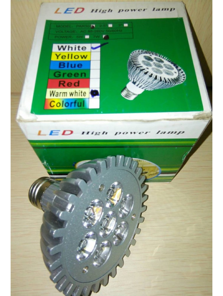 LED High Power Lamp/7W (White)