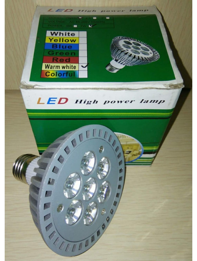 LED High Power Lamp/7W(Warm White)