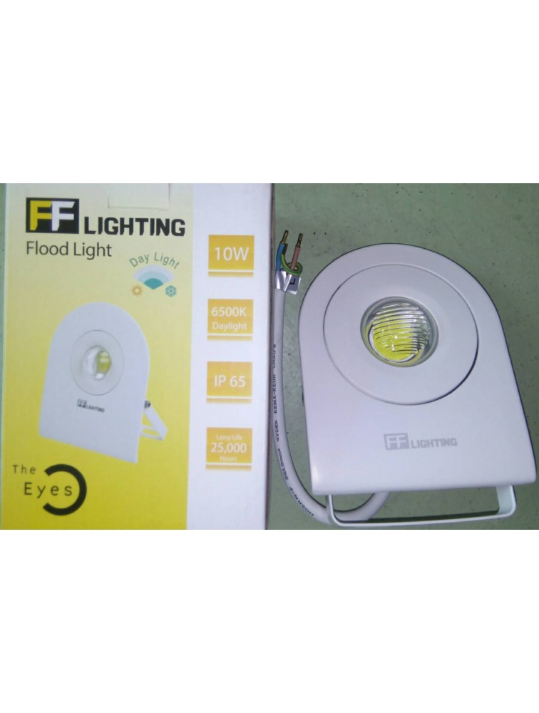 FF Lighting-Flood Light/10W/6500K (Day Light)