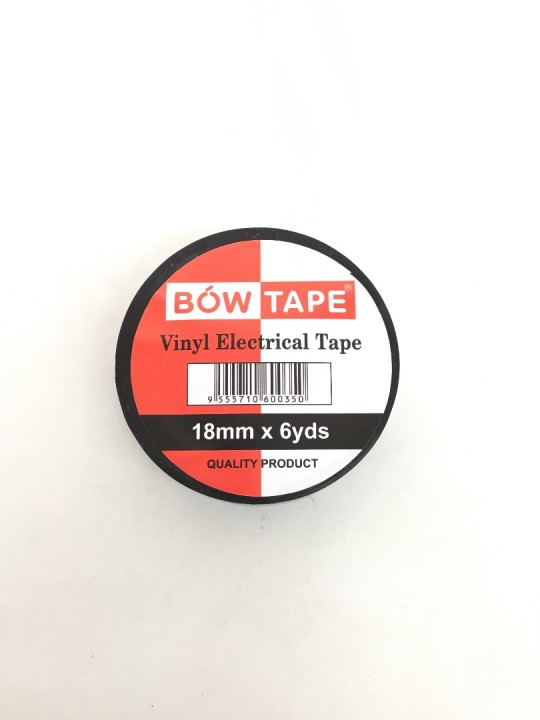 Black Tape/18MM (Black)