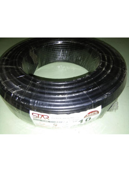 STAR 10MM X 100M SUBMAIN CABLE - BLK