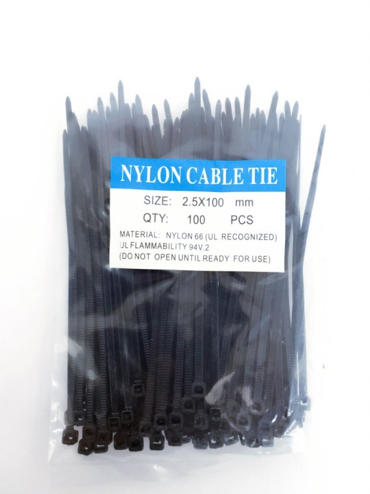 *Q-PLUS* Nylon Cable Tie (BLK)