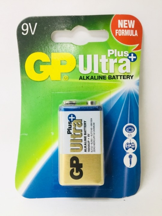 GP Ultra Alkaline Battery 9V