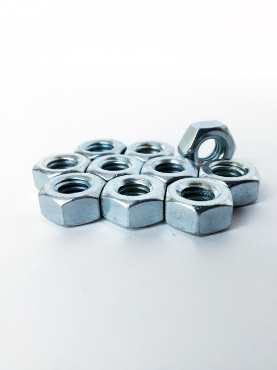 5/16 M/Steel Nut ZP (PKG) *10PCS