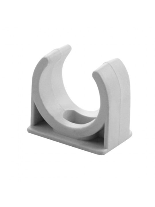PVC Saddle Clip 25MM