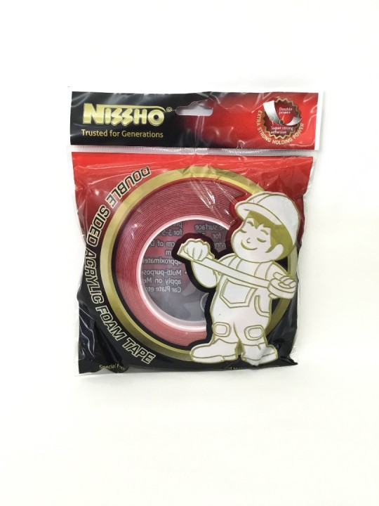 NISSHO Acrylic (T) DS Foam (R.Releare) Tape-10MM
