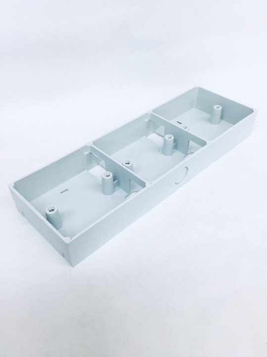 3 X 10 Socket PVC Box
