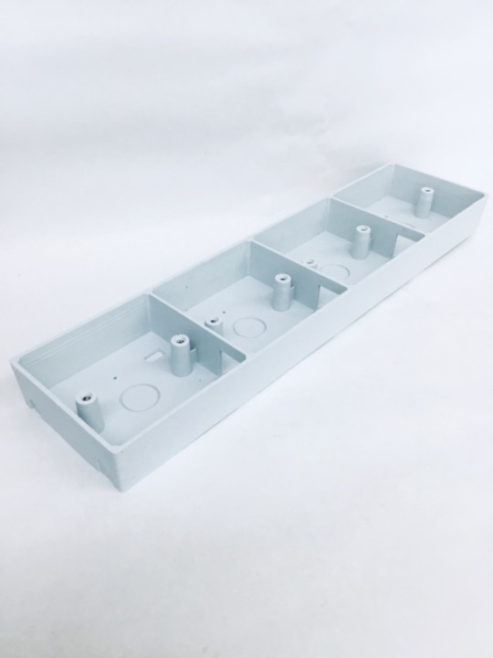 3 X 13 Socket PVC Box