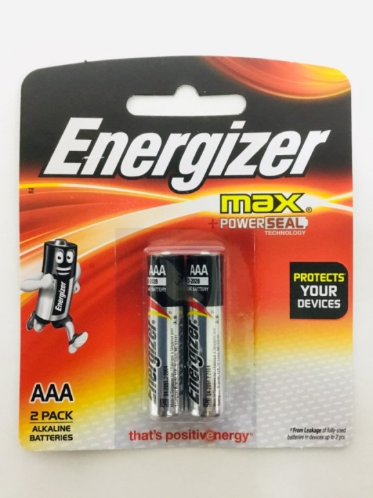 ENERGIZER Max AAA 2PC