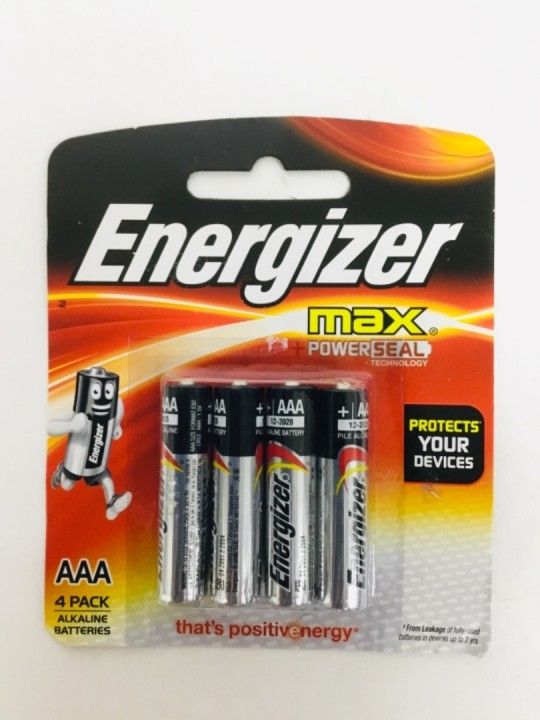 ENERGIZER Max AAA 4PC