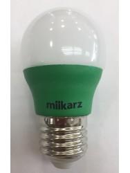 MIIKARZ G45 E27 3W Led PP Bulb-Green