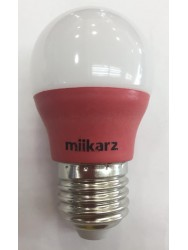 MIIKARZ G45 E27 3W Led PP Bulb-Red