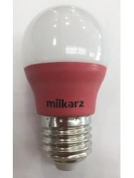 MIIKARZ G45 E27 3W Led PP Bulb-Red