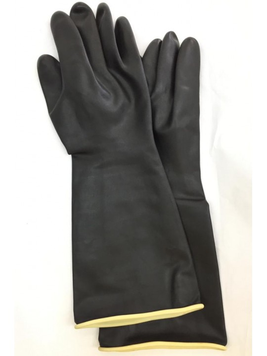 "18"" (250GM) Extra Long Indutrial Rubber Glove"