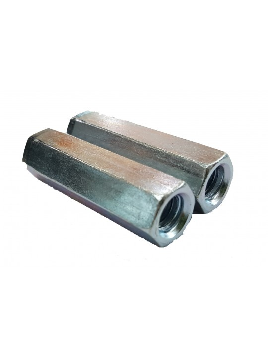 5/16-18X45 UNC Z/P Coupling Nut 4Pcs/Pkg