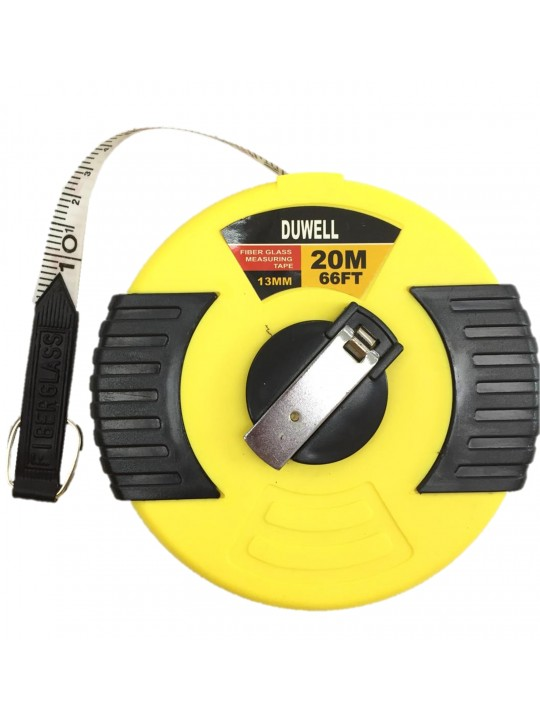 Duwell Fiber Glass Measuring Tape 20MX13MM 33920