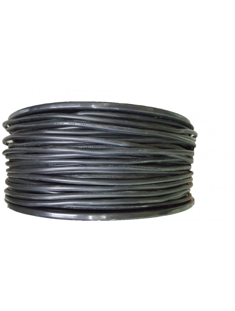 Phase-PVC Insulted Cable/6MM(Blk)
