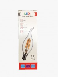 LED High Power C35 E14 4W 2700K