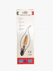 LED High Power C35 E14 4W 2700K