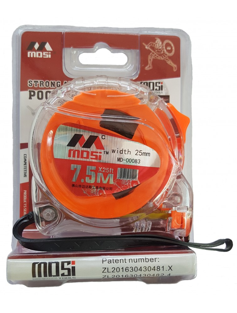 25' 7.5M MDSI Explosion Proof Measuring Tape