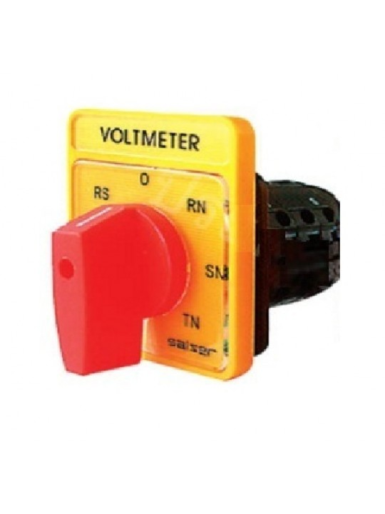 SALZER 10A Voltmeter Phase To Phase 48X60