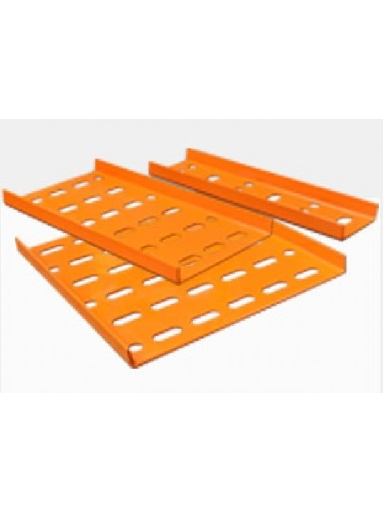 "300MM (12"") Metal Cable Tray G20 With Accessories (Orange)"