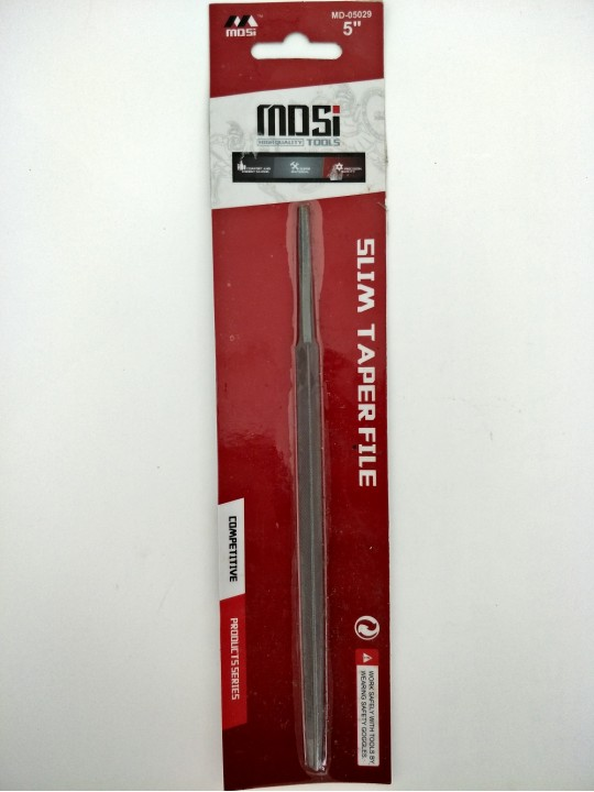 "5"" *MDSI* Slim Taper File"