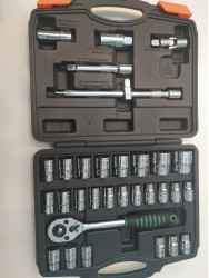 32 PCS HANN'S Box Socket Set