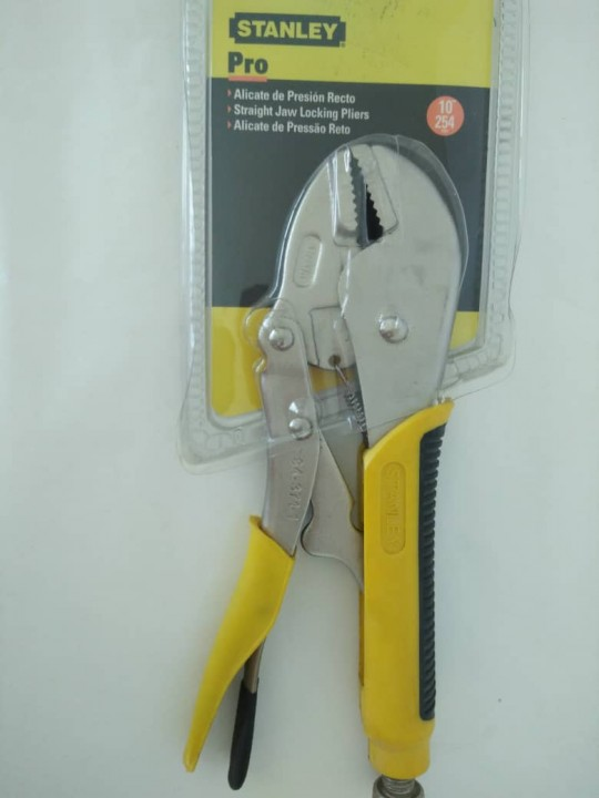 "STANLEY-Locking Pliers(10"")"