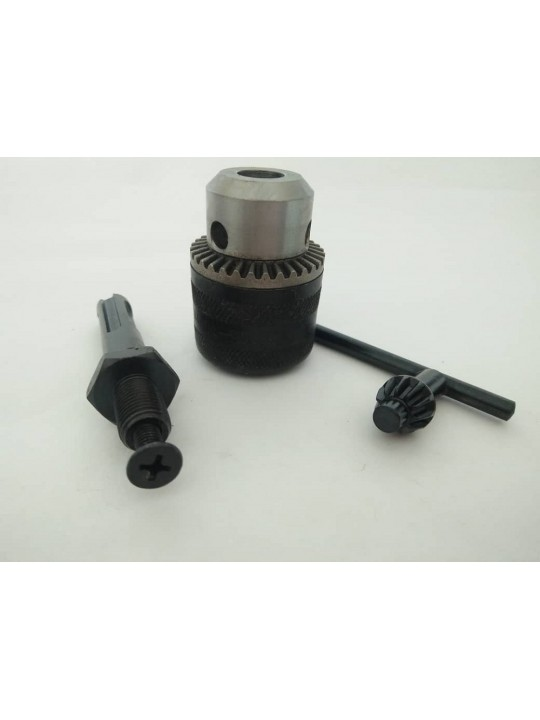 Drill Chuck With Key 1.5-13MM